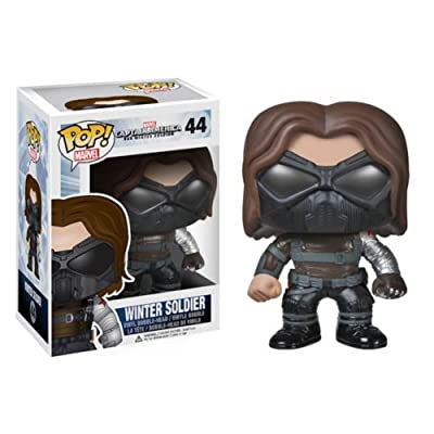 Funko POP Heroes: Captain America Movie 2 - Winter Soldier Action Figure: Funko Pop! Marvel: Toys & Games