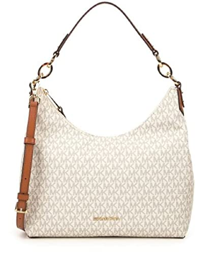 145b7849c6d84a MICHAEL Michael Kors Isabella Medium Convertible Shoulder Bag (Vanilla):  Handbags: Amazon.com