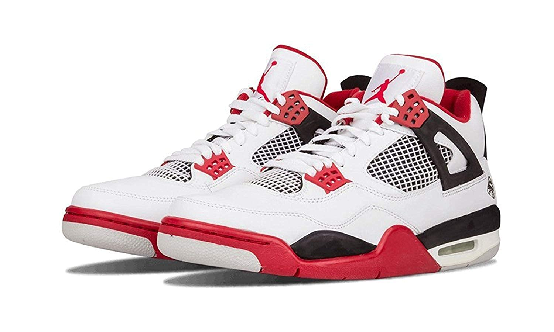 c3fa18598bec0 NIKE Air Jordan 4 Retro 'Mars Blackmon' - 308497-162, Black/red/White, 12  D(M) UK/47 D(M) EU: Amazon.co.uk: Shoes & Bags