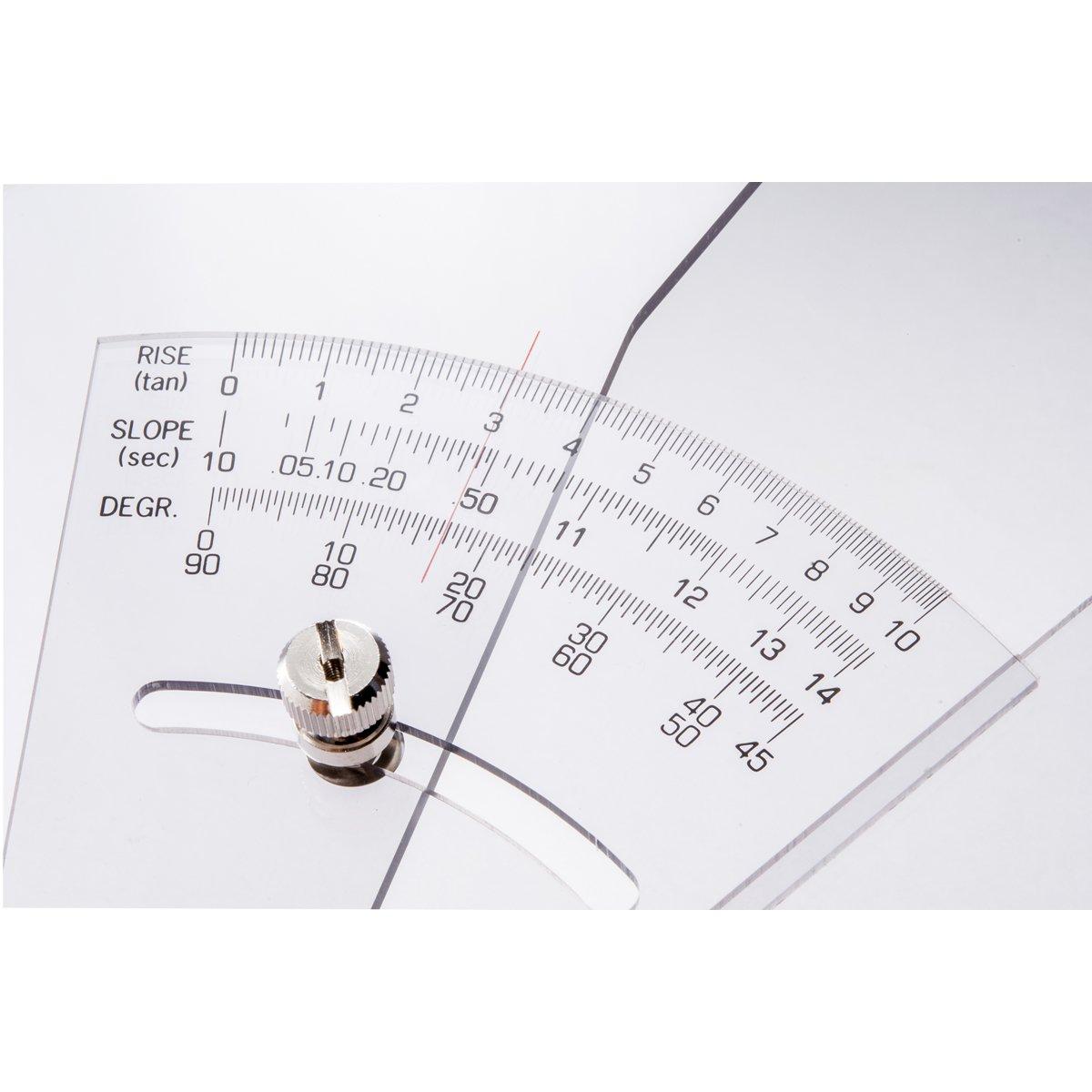japan import Staedtler Gradient Triangle Ruler 20cm 964 51-8
