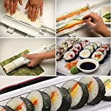 Sushi Roller DIY Maker Kit For Easy Sushi Rolling. The Best All in 1 Sushi Making Tool For Perfect Sushi Bazooka Rolls - Durable & Dishwasher Safe.