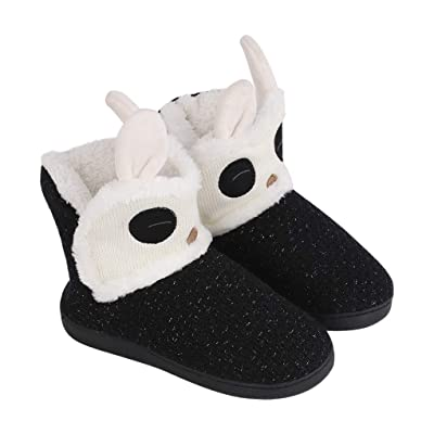 Women Slipper Boots Winter House Novelty Bedroom Indoor Outdoor Fluffy Snow Boots Ankle Bootie Plush Comfy Slippers Shoes Xmas Gifts | Slippers