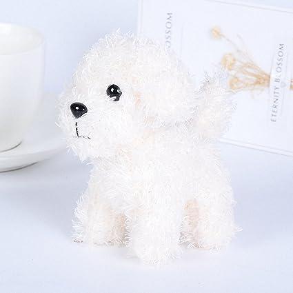Para mujer llavero con forma de perro Lovely suave bolso ...