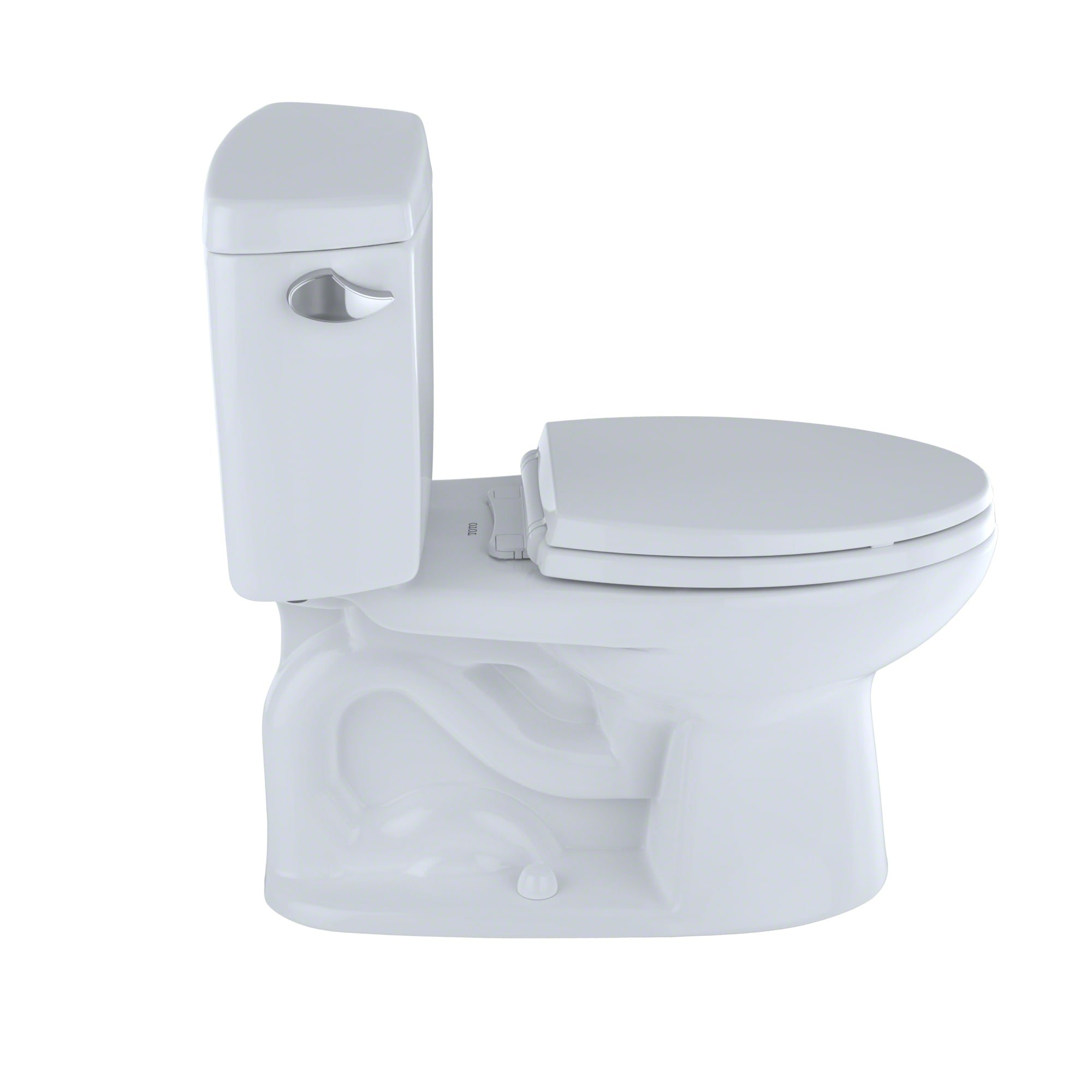 TOTO CST744SL#01 Drake 2-Piece Ada Toilet with Elongated Bowl ...