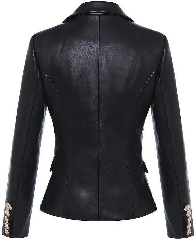 Womens Stylish Lambskin Genuine Leather Jacket WJ78