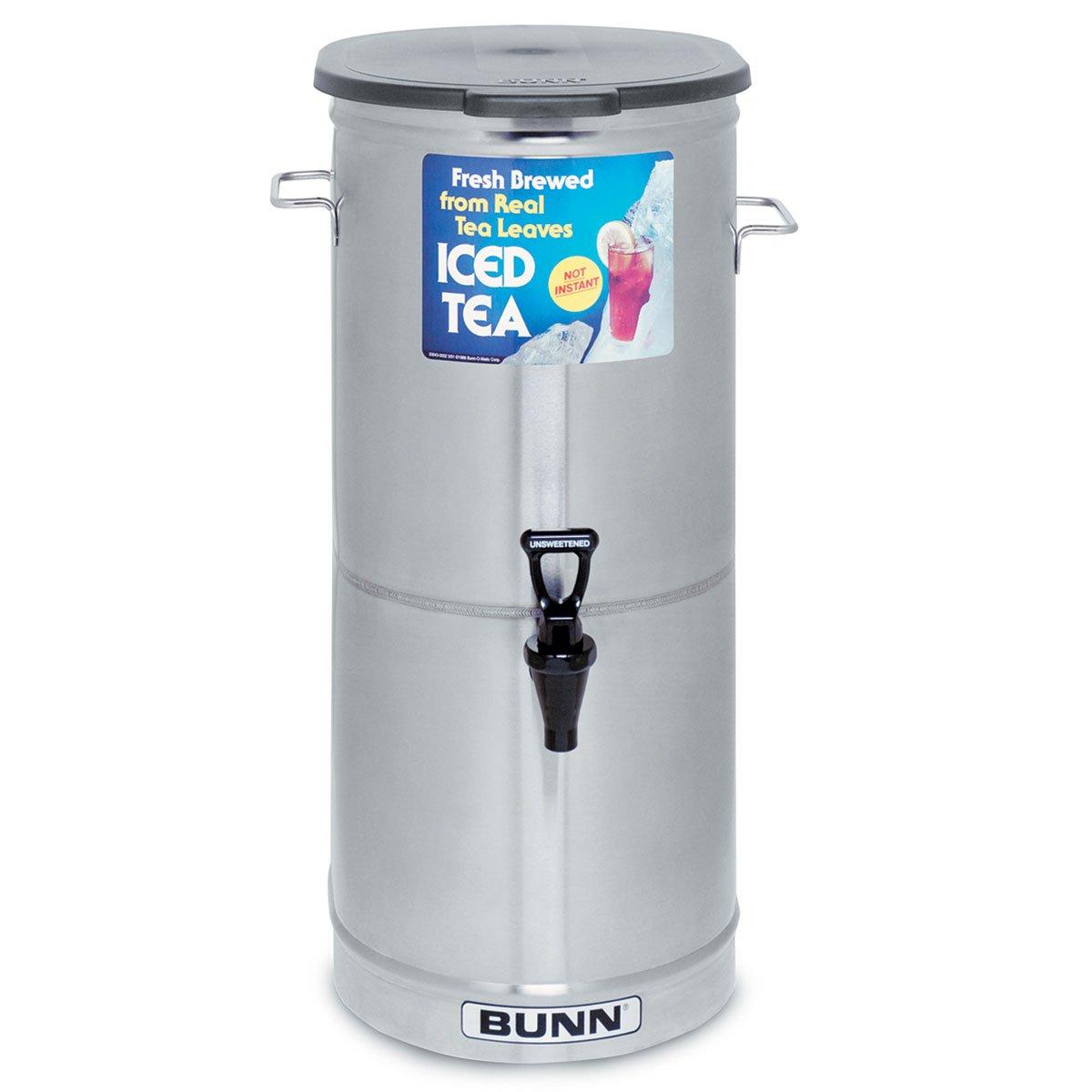 Bunn Ice Tea Dispenser Tdo-5 - 5 Gallon - Solid Lid - 34100-0001