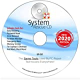 System Rescue CD System Recovery Disk for Windows 10, 8.1, 8, 7, Vista, XP and Linux. System Recovery Disk. Repair…