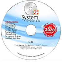 System Rescue CD System Recovery Disk for Windows 10, 8.1, 8, 7, Vista, XP and Linux. System Recovery Disk. Repair, Rescue And Recovery Software 64-bit by IMPEX Source