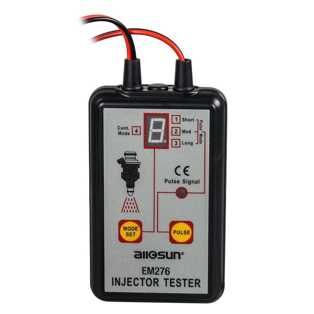 Kolsol All-sun Injecteur testeur automatique Injecteur de carburant testeur 4 modes de Pulse 12 V Diagnostic