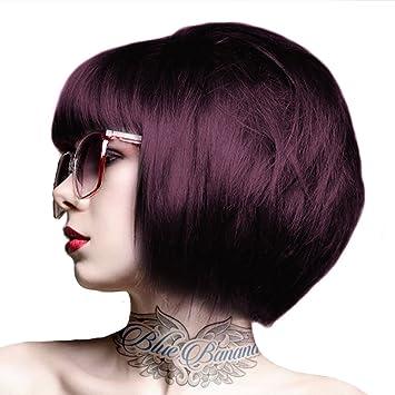 crazy color semi permanent hair dye aubergine - Coloration Aubergine