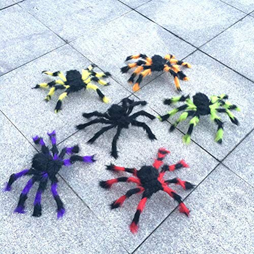 Party Favors - Plush Spider Made Of Wire And Toy Props Funny - Spiders Decor Spider Plush Party Favors Spider Stuffed Animal Soft Minecraft Plush Giant Chester Doll Halloween Fnaf -