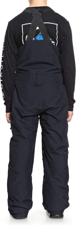 QUIKSILVER Boys Big Stratus Youth Bib 10k Snow Pants
