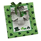 """DII St. Patrick's Day 18x28"""" Printed Dish Towel Set with Lucky Shamrock Cookie cutter Gift Set, Perfect Holiday Home Kitchen Gift, Housewarming and Hostess Gift"""