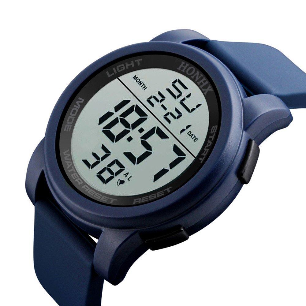 ✍✍Ratoop✍✍Luxury Men Analog Digital Military Sport LED Waterproof Wrist Watch