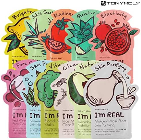 [TONYMOLY] I'm Real Mask Sheet Pack of 11