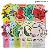 #9: [TONYMOLY] I'm Real Mask Sheet Pack of 11