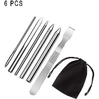 6 Piezas Paracord FID Needles, Agujas Costura Cordones