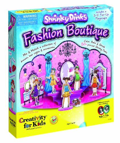 Creativity for Kids Shrinky Dinks Fashion Boutique, Baby & Kids Zone