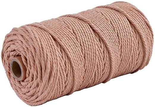 Nikgic - Cuerda de Algodón - 100m*3mm Cuerda de algodón Hecha a ...