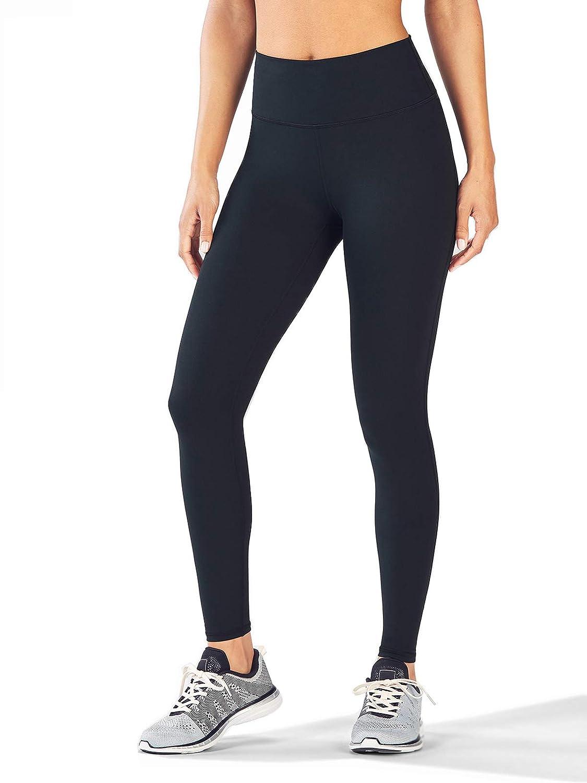 TALLA S / (Cintura:62-65cm). dh Garment Mallas Mujer Fitness Leggins de Cintura Alta con Bolsillos