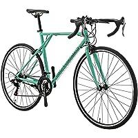 SD XC560 700C Road Bike Steel Frame Caliper Brake 21 Speed Gears for Adult Road Bicycle Green