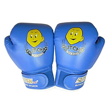 Kids Boxing Glove Fight Gloves For Training Fists PU Leather Muay Sandbag