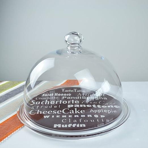 Protector de pantalla de cristal-tabla de quesos con campana extractora VIDIVI EATPARADE, 2 piezas, de superficies de vidrio especial refinado: Amazon.es: Hogar