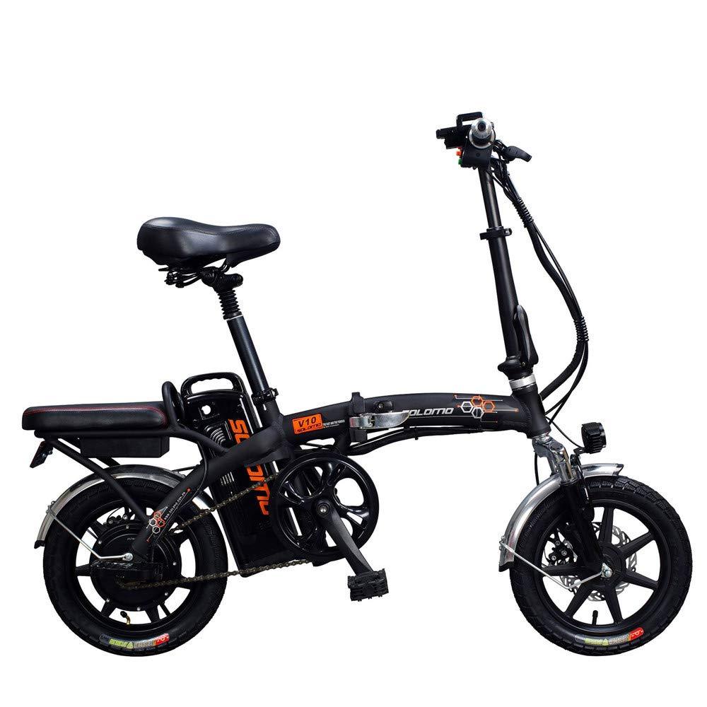Batería De Litio Eléctrica Plegable Ultra Ligera De La Aleación De Aluminio De La Bicicleta: Amazon.es: Deportes y aire libre