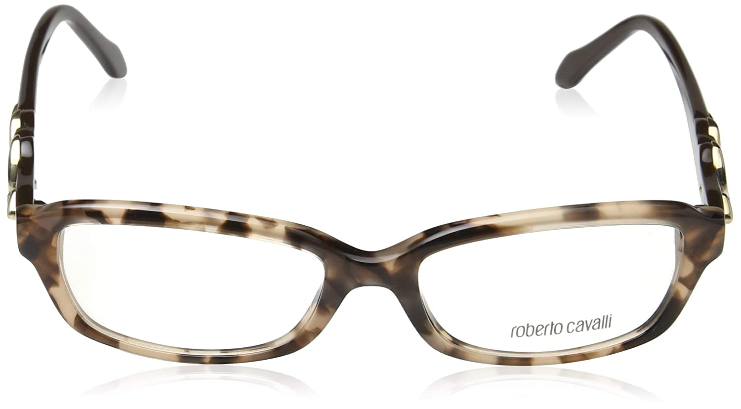 Roberto Cavalli RC0844-055 Eyeglass Frame coloured havana w// Clear Demo Lens 54mm