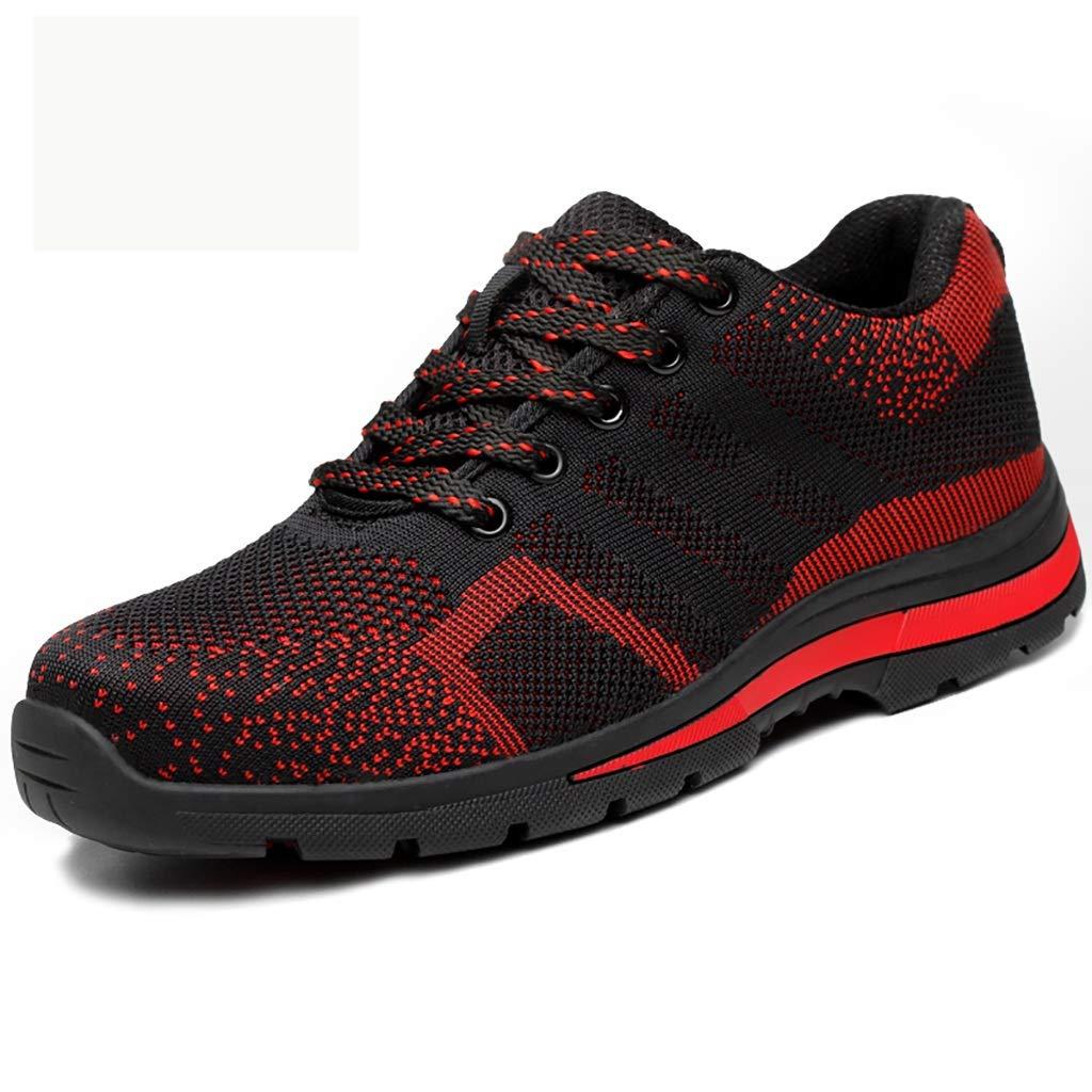 XBXZ Sicherheitsschuhe Sicherheitsschuhe setzen Piercing-Schuhe für Männer und Frauen im Herbst und Winter isoliert Arbeitsschuhe (Farbe : A, größe : 38)