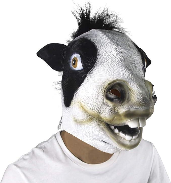 Novelty Halloween Costume Party Unicorn Latex Animal Head Mask molezu Magical Horse Mask