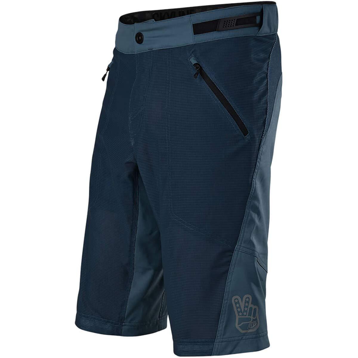 Troy Lee Designs Skyline Air Short - Men's Solid Air Force Blue, 30
