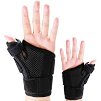 Thumb Splint with Wrist Support Brace-Thumb Brace for Carpal Tunnel or Tendonitis Pain Relief,Wrist Brace Fits Both Left…