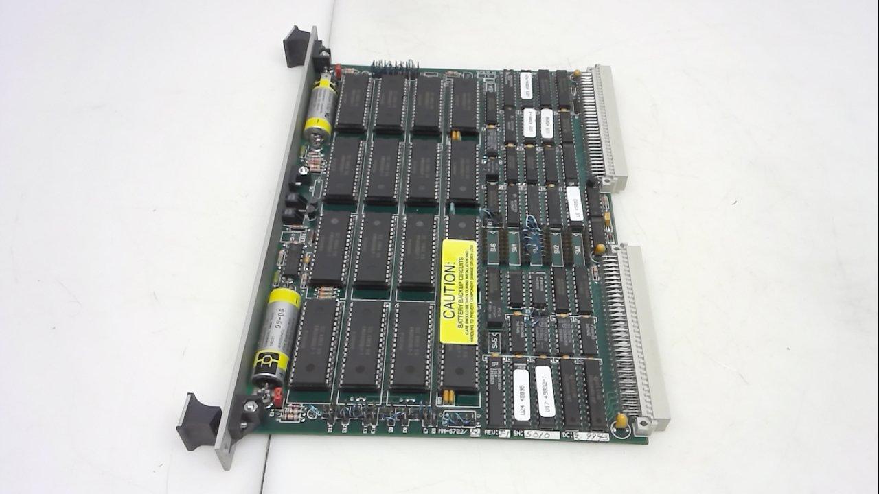 Micro Memory Mm-6702, Memory Module, Ram Or Eprom 512Kb-8Mb