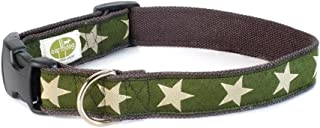 product image for Earthdog Hemp Dog Collar in Star Pattern