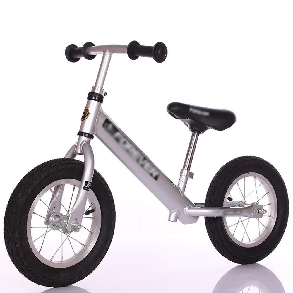ペダルなし自転車 26歳の男の子のためのバランスバイク しるば゜、無ペダル調節可能な座席とハンドルバーの歩行自転車 B07LCPMK2D、歩行自転車 (色 : シルバー Pink) B07LCPMK2D シルバー しるば゜ シルバー しるば゜, 対馬市:b915f7f4 --- yogabeach.store