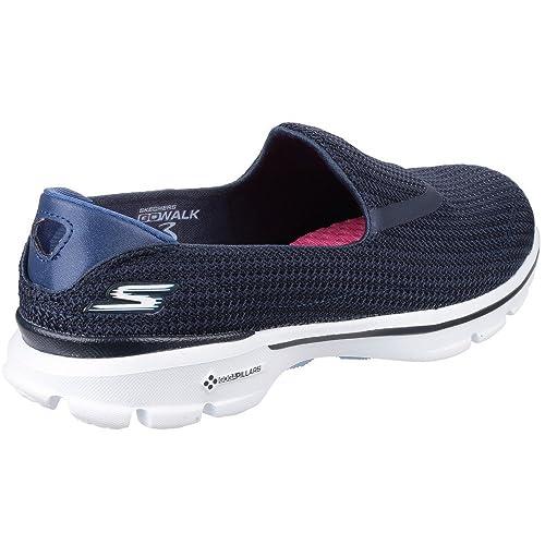 Skechers NVLB Go Walk 3 Zapatillas Mujer Azul NVLB Skechers 2018 Skechers Go Walk 234770