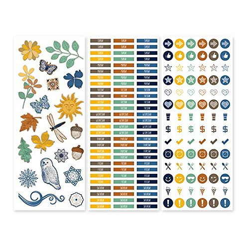 Daily Docket Stickers (3/pk) by Creative Memories