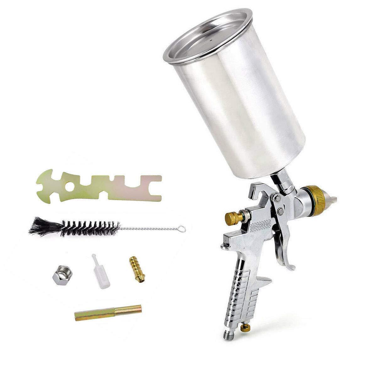 Pistola Para Pintar 1.3mm Hvlp Air Kit Auto Car Detail To...