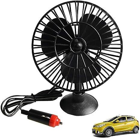 12 V Auto Mini Ventilador Eléctrico del Aire Acondicionado del ...