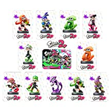 Splatoon 2 Amiibo Cards For Switch and Wii U Full Set 11 Cards(Inkling Boy/Girl/Squid/Aori/Hataru/Callie)