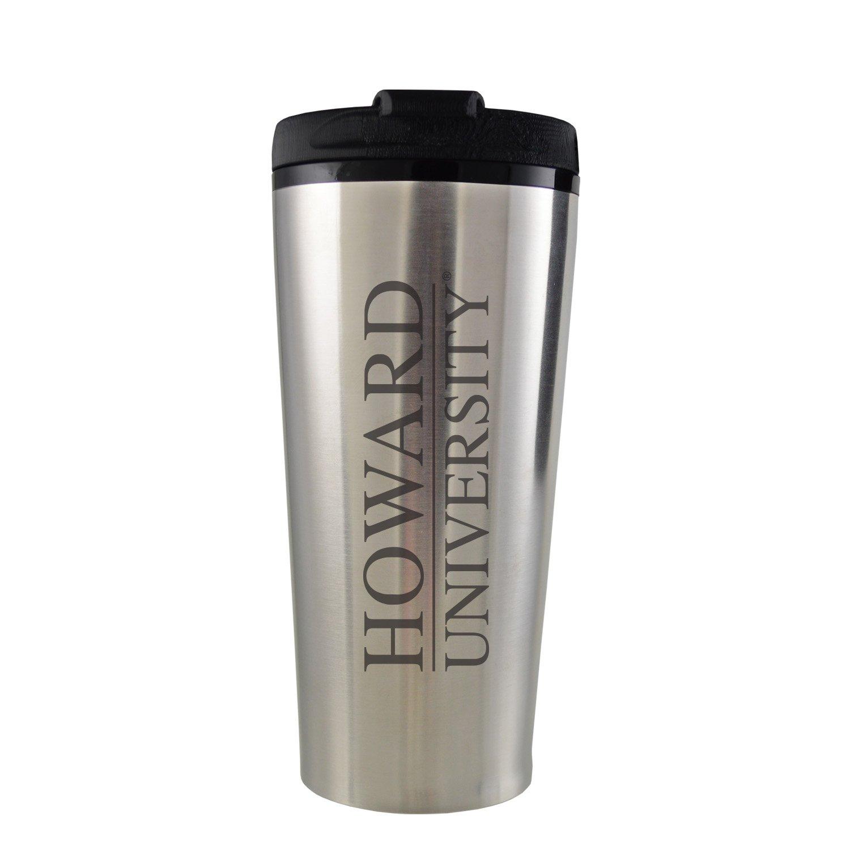 Stainless Steel Mug-Blue Howard University-16 oz