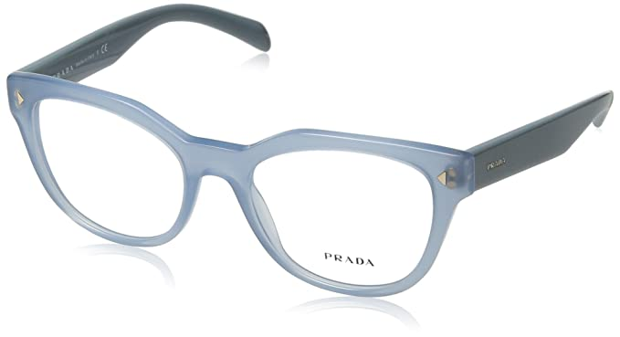 6f52c64400a Amazon.com  Prada Unisex 0PR 21SV Opal Azure One Size  Clothing