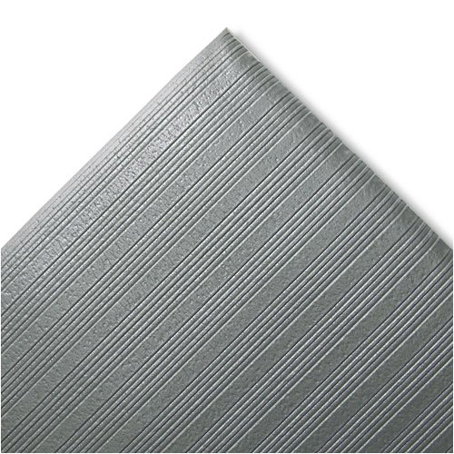Crown Ribbed Antifatigue Vinyl Gray