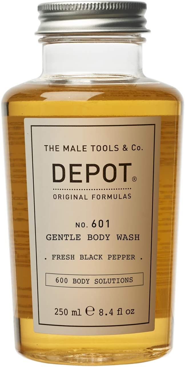 DEPOT No.601 Gentle Body Wash Fresh Black Pepper, 250 ml