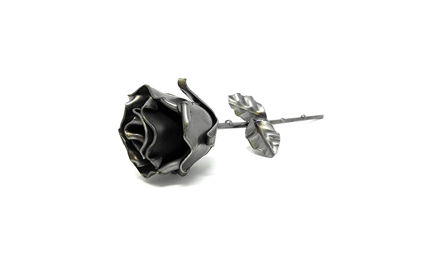 ♥ Eternal Rose Hand-Forged Wrought Iron