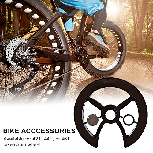 T-best Bike Chain Ring Guard Bicycle Chainring Protector Chain-wheel Protective Cover Chainguard