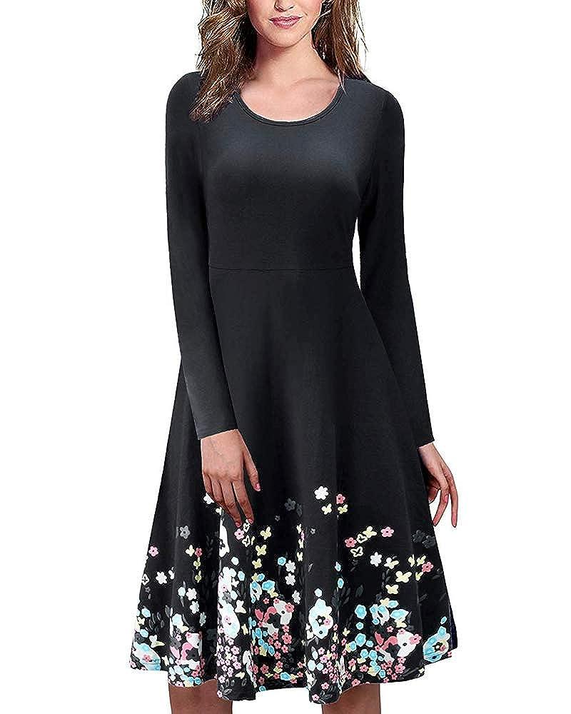Black B COCOPLAZA Womens Summer Casual Sleeveless Dresses Sundress Loose ALine Mini Beach Dress