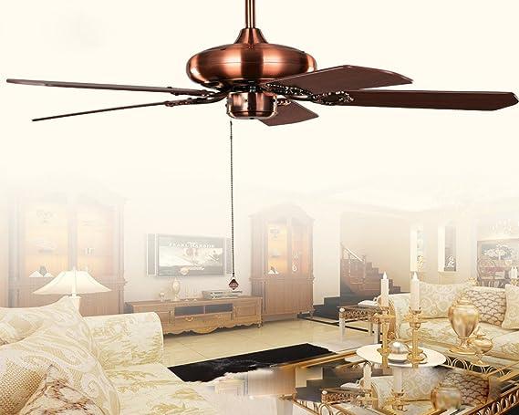 La lámpara de techo, lámpara de hojas de ventilador de techo ...