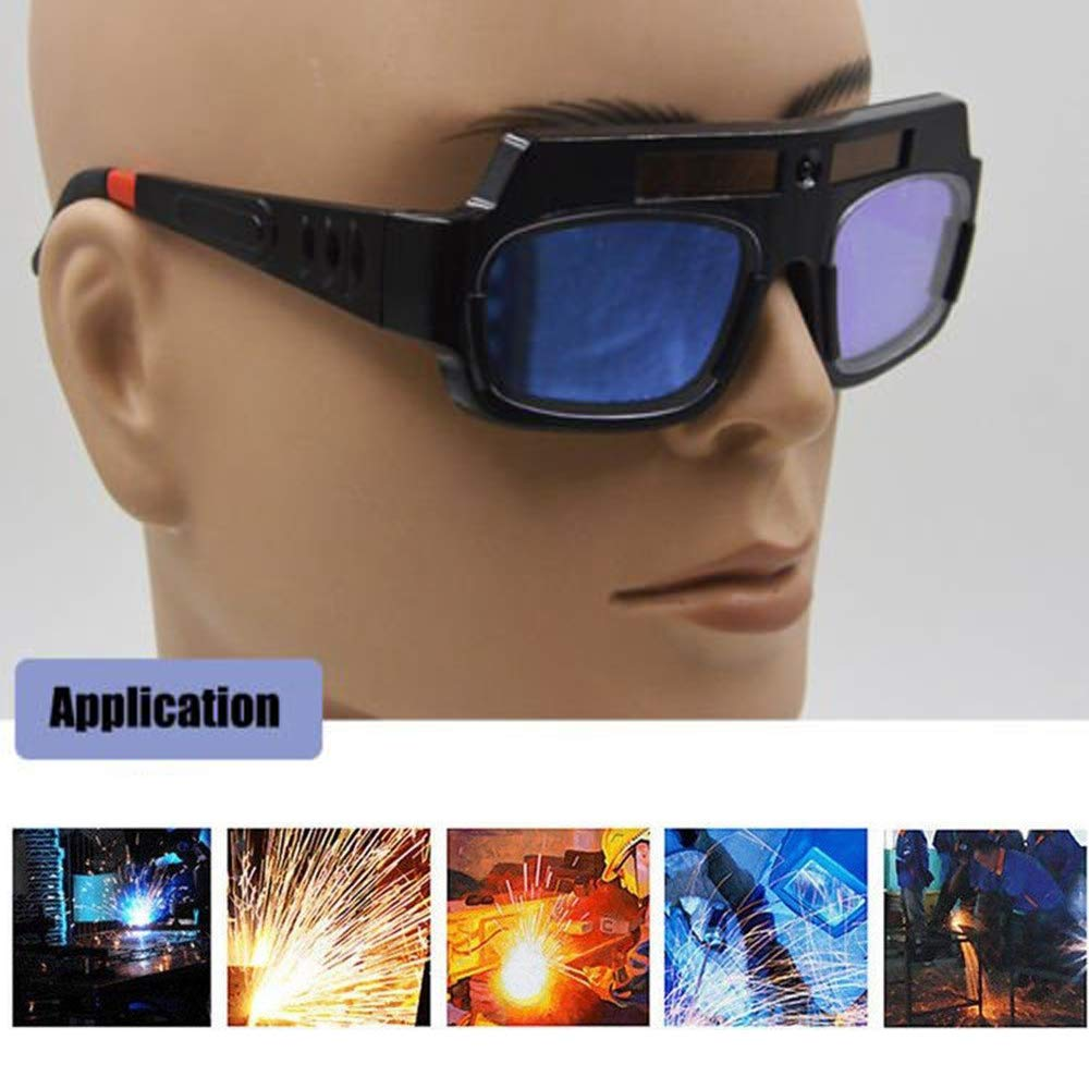 LETBUY Welding Glasses Mask Helmet Eyes Goggles, Solar Auto Darkening Welding Goggle Safety Protective Eyes Goggle, Professional PC Lens Welder Soldering Mask Anti-Flog Anti-Glare Goggles by LETBUY-Tech (Image #6)